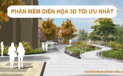Dùng Phần Mềm Thiết Kế Cảnh Quan Sân Vườn 3D Nào?