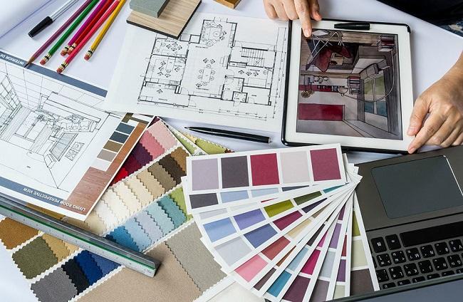 cách phối màu trong thiết kế nội thất