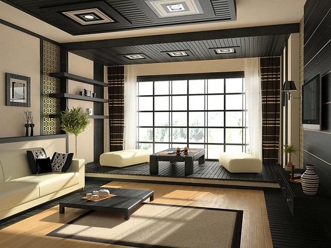 thiết kế nội thất phong cách zen