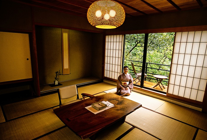 không gian sống xanh phong cách thiết kế nội thất nhật bản