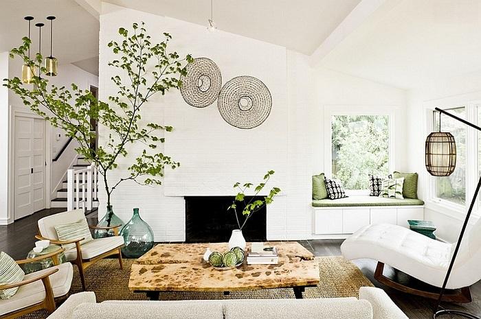 màu sắc thiết kế nội thất phong thủy phòng khách