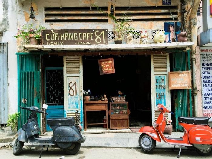 quán cafe phong cách thiết kế nội thất vintage