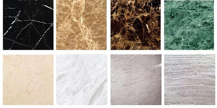 vật liệu đá nội thất đá marble